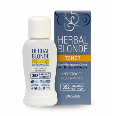 Herbal Blonde Toner 352 Precious Platinum